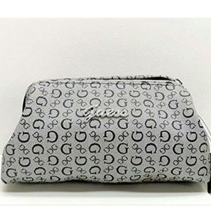 "NWOT! Guess ""Charleville"" Monogram Cosmetic Bag"